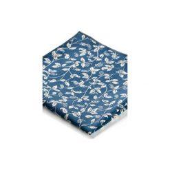 Poszetki męskie: Poszetka LEAF niebieski