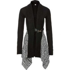 Sweter rozpinany bonprix czarno-szary. Szare swetry rozpinane damskie marki Mohito, l. Za 129,99 zł.