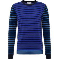 Swetry klasyczne męskie: Essentiel Antwerp KODA  Sweter blue