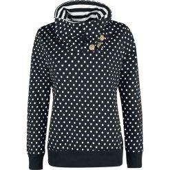 Hailys Annie Bluza z kapturem damska czarny/biały. Białe bluzy rozpinane damskie marki Haily's, xxl, w kropki, z kapturem. Za 107,90 zł.
