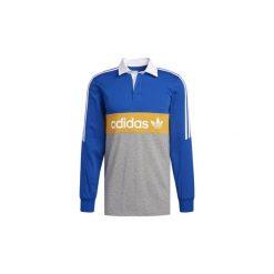 Koszulki polo z długim rękawem adidas  Koszulka polo Heritage. Niebieskie koszulki polo Adidas, l, z długim rękawem. Za 269,00 zł.