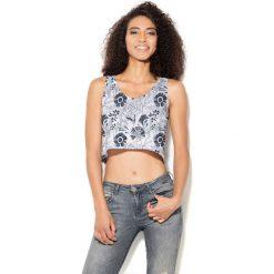 Colour Pleasure Koszulka damska CP-035 207 czarno-biała r. XS-S. T-shirty damskie Colour pleasure, s. Za 64,14 zł.