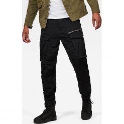 G-Star Raw - Jeansy Rovic Zip. Czarne jeansy męskie regular G-Star RAW. W wyprzedaży za 399,90 zł.