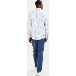 Koszule męskie na spinki: Solid MACE Koszula white/blue