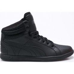 Puma - Buty Ikaz Mid v2. Czarne buty sportowe damskie marki Puma, z materiału. W wyprzedaży za 249,90 zł.
