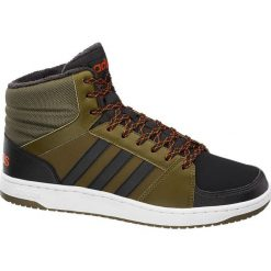 Buty męskie adidas Vs Hoops Mid adidas oliwkowe. Czarne buty sportowe męskie marki Adidas, z kauczuku. Za 195,00 zł.