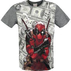 T-shirty męskie z nadrukiem: Deadpool Dollars T-Shirt wielokolorowy