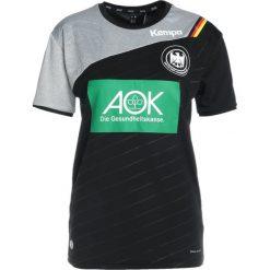 Kempa DHB AUSWÄRTSTRIKOT Koszulka reprezentacji schwarz. Czarne t-shirty damskie Kempa, xl, z poliesteru. W wyprzedaży za 239,20 zł.