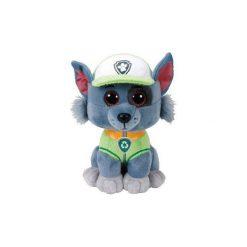 Maskotka TY INC Beanie Babies - Psi patrol Rocky 15 cm 41212. Szare przytulanki i maskotki marki TY INC. Za 29,99 zł.