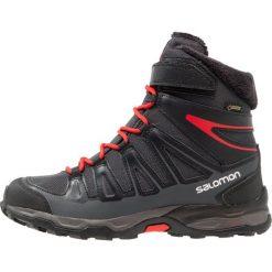 Buty zimowe damskie: Salomon Śniegowce asphalt/black/radiant red