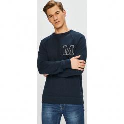 Mustang - Bluza. Czarne bluzy męskie rozpinane marki Mustang, l, z bawełny, z kapturem. Za 229,90 zł.