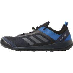 Adidas Performance TERREX SWIFT SOLO Obuwie hikingowe conavy/grey/blue. Szare buty sportowe męskie adidas Performance, z materiału, outdoorowe. Za 399,00 zł.