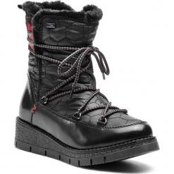 Śniegowce S.OLIVER - 5-26477-31 Black Comb 098. Czarne buty zimowe damskie S.Oliver, z materiału. Za 299,90 zł.