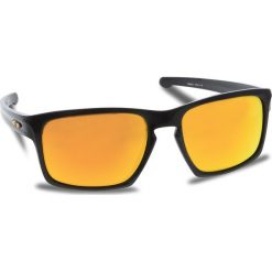 Okulary przeciwsłoneczne OAKLEY - Sliver OO9262-27  Polished Black/Fire Iridium. Czarne okulary przeciwsłoneczne męskie aviatory Oakley, z tworzywa sztucznego. W wyprzedaży za 509,00 zł.