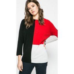 Diesel - Sweter. Swetry klasyczne damskie Diesel, m, z dzianiny, z okrągłym kołnierzem. W wyprzedaży za 499,90 zł.