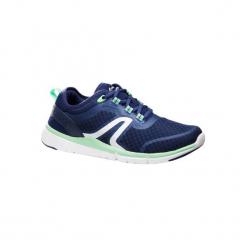 Buty do szybkiego marszu Soft 540 Mesh damskie. Niebieskie buty do fitnessu damskie marki DOMYOS, z gumy. Za 129,99 zł.