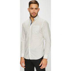 Jack & Jones - Koszula. Szare koszule męskie na spinki Jack & Jones, l, z bawełny, button down, z długim rękawem. W wyprzedaży za 89,90 zł.