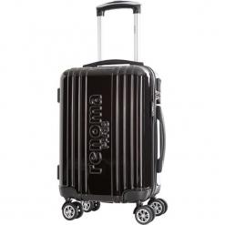 Walizka w kolorze czarnym - 35 l. Czarne walizki Bagstone & Travel One, z materiału. W wyprzedaży za 239,95 zł.