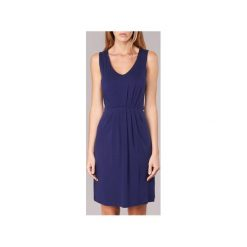 Sukienki krótkie Gant  PLEATED DRESS. Niebieskie sukienki mini GANT, s, z krótkim rękawem. Za 559,20 zł.