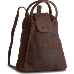 Plecaki damskie: Plecak VERSO – 30048640A Brązowy