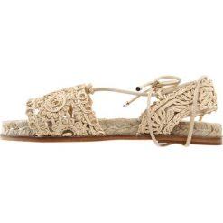 Rzymianki damskie: WEEKEND MaxMara BRANDY Sandały beige