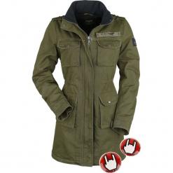 Black Premium by EMP Ladies Field Jacket Incl. Heatpad Kurtka damska oliwkowy. Czarne kurtki damskie marki Black Premium by EMP, xl, z poliesteru. Za 527,90 zł.