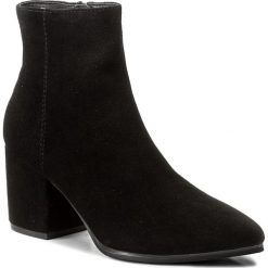 Botki ALDO - Fralissi 53505125 91. Czarne buty zimowe damskie ALDO, z materiału. W wyprzedaży za 359,00 zł.