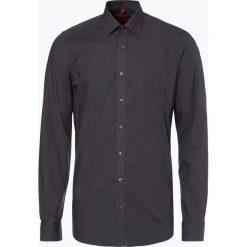 Finshley & Harding - Koszula męska łatwa w prasowaniu, szary. Czarne koszule męskie non-iron marki Finshley & Harding, w kratkę. Za 179,95 zł.