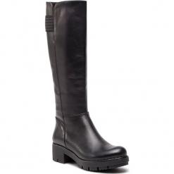 Kozaki KARINO - 2669/076-6 Czarny. Fioletowe buty zimowe damskie marki Karino, ze skóry. W wyprzedaży za 319,00 zł.