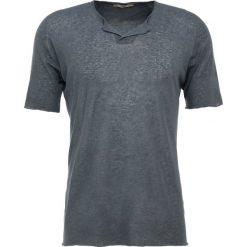 Nuur SERAFINO Tshirt basic antracite. Szare t-shirty męskie Nuur, m, ze lnu. W wyprzedaży za 444,50 zł.