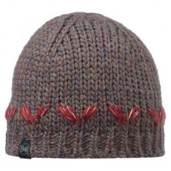 Czapka damska Knitted Hat Lilie brązowa (BH111017.325.10.00). Brązowe czapki zimowe damskie Buff. Za 111,64 zł.