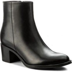 Botki EVA MINGE - Therasia 2C 17GR1372262EF 101. Czarne buty zimowe damskie Eva Minge, z polaru. W wyprzedaży za 299,00 zł.