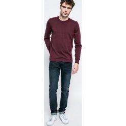 Blend - Jeansy. Brązowe jeansy męskie slim marki Blend, l, z bawełny, bez kaptura. W wyprzedaży za 69,90 zł.