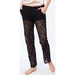 Etam - Spodnie piżamowe Maelys. Niebieskie piżamy damskie marki Etam, l, z bawełny. Za 149,90 zł.
