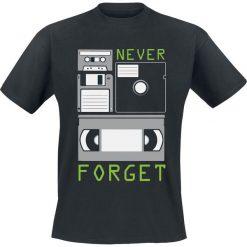 Never Forget T-Shirt czarny. Czarne t-shirty męskie marki Never Forget, xl. Za 62,90 zł.