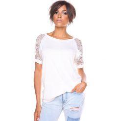 """T-shirty damskie: Koszulka """"Mirna"""" w kolorze białym"""
