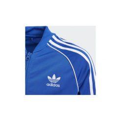 Bluzy dresowe Dziecko adidas  Bluza dresowa SST. Niebieskie bluzy chłopięce marki Adidas, z dresówki. Za 199,00 zł.