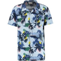 Koszule męskie na spinki: Knowledge Cotton Apparel PALM SEA ALL OVER Koszula skyway