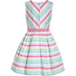 Sukienki dziewczęce z falbanami: Carter's STRIPE ROSETTE EASTER DRESS Sukienka koszulowa multicolor