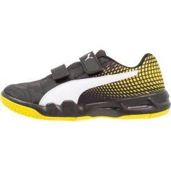 Buty do koszykówki damskie: Puma VELOZ INDOOR NG Obuwie do piłki ręcznej black/white/blazing yellow