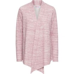 Bluza rozpinana z długim rękawem bonprix jeżynowy melanż. Fioletowe bluzy rozpinane damskie marki bonprix, melanż, z długim rękawem, długie. Za 37,99 zł.