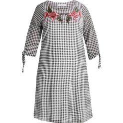 Sukienki hiszpanki: Evans GINGHAM TIED SLEEVE  Sukienka letnia dark multi