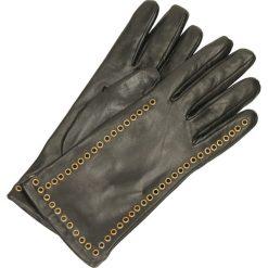 Rękawiczki - 2021 N NERO. Szare rękawiczki damskie Venezia, z nylonu. Za 159,00 zł.
