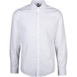 Koszule męskie na spinki: Koszula – Slim fit – w kolorze białym