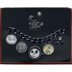 Zegarki damskie: Miasteczko Halloween Jack Charm Watch Zegarek na rękę czarny