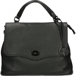 Torba - 66-002-O D NE. Czarne torebki klasyczne damskie Venezia, ze skóry. Za 359,00 zł.
