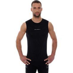 Brubeck Koszulka męska ATHLETIC bez rękawów czarna r. S (SL10190). Czarne koszulki sportowe męskie marki Brubeck, m. Za 89,99 zł.
