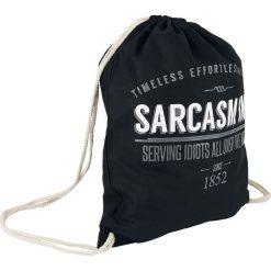 Torebki i plecaki damskie: Sarcasm Inc. Torba treningowa czarny