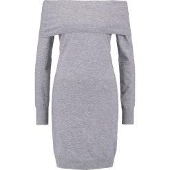 Sukienki: Vero Moda VMVICKY Sukienka dzianinowa light grey melange