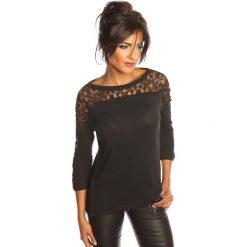 """Bluzki damskie: Koszulka """"Colette"""" w kolorze czarnym"""